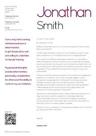 Cv And Cover Letter Template Raream