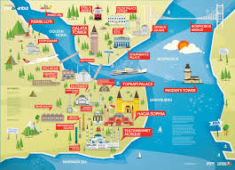 download istanbul map tourist attractions  major tourist
