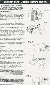 chamberlain garage door opener manualGarage Doors  Liftmaster Remotes Instructions 973lm Remote Freen