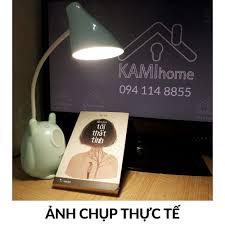 Đèn học để bàn chống lóa chống cận thị cho trẻ em sạc led tích điện kiêm Đèn  ngủ và Đọc sách mã TGX792.36019 - Đèn bàn Thương hiệu No brand