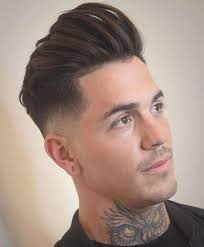 Coupe Homme Court Frise Coupe Cheveux Degrade