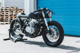 it began as a 1978 honda cb750 dresden bike obsessives hookie co have rendered the honda unrecognisable with a nose to tail transformation to create the