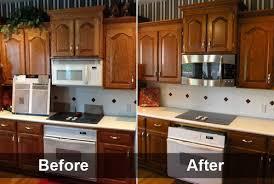 Restaining Kitchen Cabinets Modern Design Restaining Kitchen Cabinets  Trendy 8 Oak Image