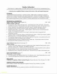 Free Medical Assistant Resume Template Beauteous Resume Templates For Medical Assistant Students Inspirationa 48