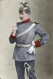 Prussian Line Uhlans Officer Colourized By Me Image Ww1 Reference