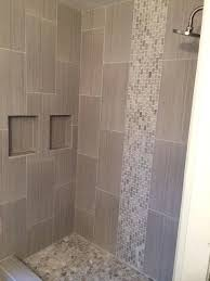 tile designs for showers master bath ideas mixed quartz mini stone subway tile wer with mixed tile designs for showers