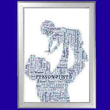 image is loading new baby word art personalised gift for him