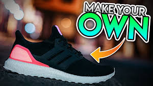 Adidas Ultra Boost Design Your Own Here Is How You Can Customize Your Own Adidas Ultraboost Custom Black Boost