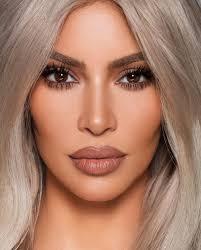 kim kardashian makeup look with neutral tones for kkw beauty kkwbeauty kimkardashian kylie