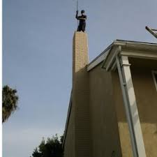photo of red hood chimney sweep and air duct cleaning garden grove ca