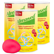 the 1 almased t protein powder 3 pack free stress ball