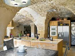old modern furniture. Old Stone Ceiling And Contemporary Furniture Modern N