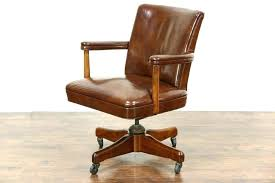 antique office chair parts. Antique Oak Desk Chair Parts Swivel Vintage Leather Office . S