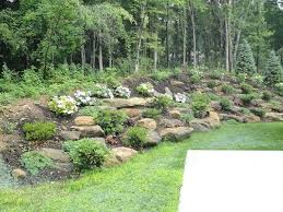 Steep hill landscaping Pool South Daily Life Clock Amusing Backyard Hill Ideas For Landscaping With How To Landscape