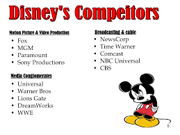Disney Conglomerate Chart Ppt Summary Of The Walt Disney Company Powerpoint