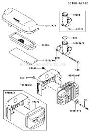 kawasaki fj180v parts list and diagram bs04 ereplacementparts com