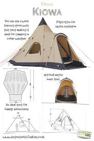 best camping images stuff ideas diy baker tent plans the robens kiowa is a family