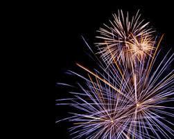 fondo para powerpoint plantilla powerpoint de fuegos artificiales para celebración es un