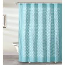 quatrefoil shower curtain style quarters tile shower curtain aquarium and white pattern x on free on orders over moroccan quatrefoil