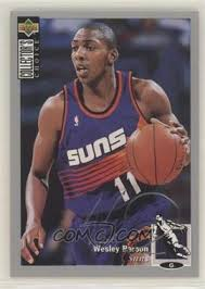 1994-95 Upper Deck Collector's Choice - [Base] - Silver Signature #229 - Wesley  Person