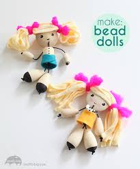 learn how to make this diy wood bead dolls craft