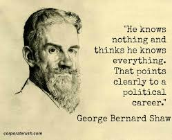 George Bernard Shaw Quotes Magnificent George Bernard Shaw Quotes On 'political Career'