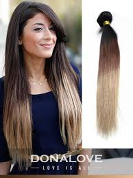 diy balayage hair extensions two colors ombre indian remy clip in hair extensions od005 clip in