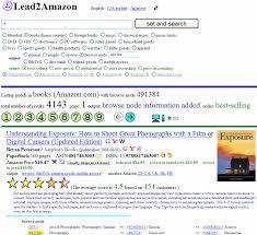 amazon search through lead2amazon