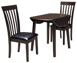 3 Piece Round Drop Leaf Table Set By Signature Design By Ashley