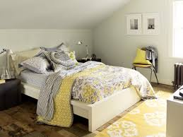 The Trick to Mixing Prints in Your Home. Gray Yellow BedroomsGrey ...