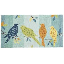 Memory Foam Kitchen Floor Mat Cloud Stepar Birds Branch Memory Foam Rug Pier 1 Imports