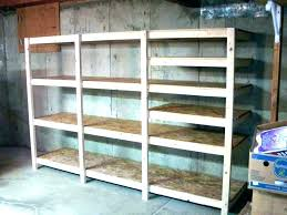 building basement shelves basement storage ideas and 8 organizing building basement shelves build your own shelves