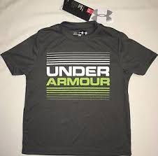 Nwt Youth Boys Ysm Small Under Armour T Shirt Tee Loose Fit