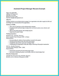 Assistant Project Manager Resume Job Description Store Assistant Manager Resume That Can Bag You