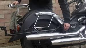 removing the rear fender yamaha xvs 650 a youtube