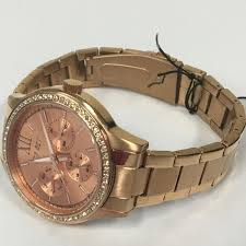 amazing deals on designer watches under £100 uk delivery classy ladies jet set swag rose gold stainless steel chrono watch j16216 022