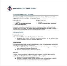 Usa Jobs Resume Enchanting Federal Resume Sample And Format The Resume Place Resume Template