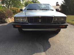 maserati club maserati parts mie corp maseratinet store immaculate 1985 maserati quatroporte lll appears to be original paint recent tune up new tires new muffler interior like it left the factory 22000