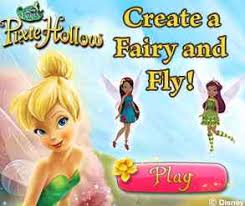 Create a fairy and fly