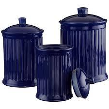 Blue Kitchen Decor Accessories Cobalt Blue Kitchen Have A Cobalt Blue Canister Set With