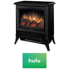 compact electric stove. Exellent Electric Dimplex Compact Electric StoveStyle Fireplace W Hulu 25 Gift Card  CS In Stove E