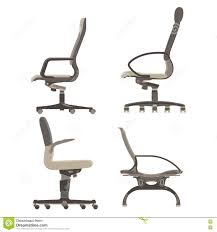 Side view office set Sitting Set Collection Pack Office Chairs Illustration Object Dreamstimecom Set Collection Pack Office Chairs Side View Stock Vector