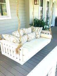 round porch swing porch bed swinging porch beds white porch swing porch swing bed white porch