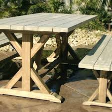 outdoor farmhouse table rustic farm tables style furniture dining with from reclaimed wood plans outdoor farmhouse table