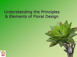 Floral Design Basics Principles And Elements Introduction To Floral Design Slideshow I Cant Wait To