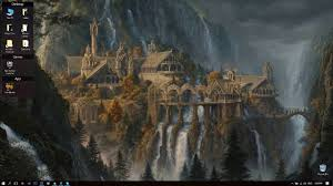 desktophut lotr rivendell live wallpaper