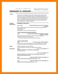 Example Profile For Resumes 9 10 Profile On Resume Example Samples