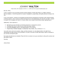 Software Engineer Cover Letter Good Software Test Engineer Cover