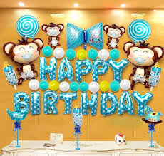 Baby\u0027s First Birthday Decorations 1st Decoration Kit in Beautiful Pastel Colors Ft. Giant Number One Mylar Balloon