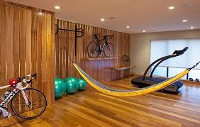 home gym lighting. gym storage home contemporary with recessed lighting bike picture window